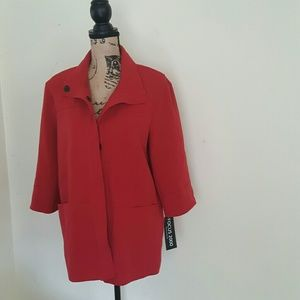 NWT Focus 2000 Women's Red Jacket
